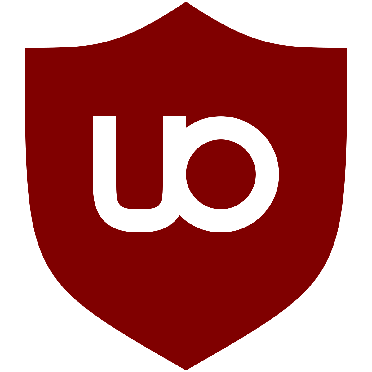 Logo de l'extension uBlock Origin